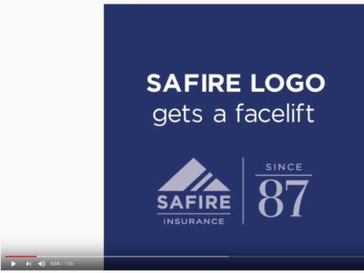 SAFIRE logo in you tube video